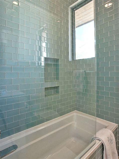 glass tiles bathroom ideas 40 blue glass bathroom tile ideas and pictures