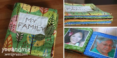 baby family picture book baby fabric family book baby