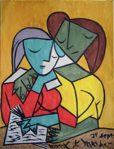 picasso paintings reading picasso reading by kevinjmulder on deviantart