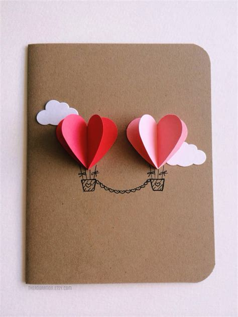 make valentines day card 25 easy diy s day cards