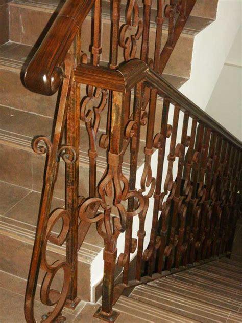 barandillas de forja para escaleras de interior barandillas de forja para escaleras de interior foto