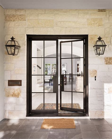 steel doors with glass best 25 steel doors ideas on glass doors
