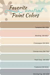 list of neutral colors favorite neutral paint colors from sherwin williams real
