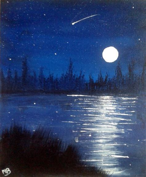 paint nite a island city acrylic paintings of at sky painting
