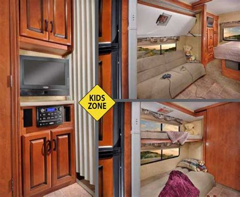 class a motorhome with bunk beds class a rv with bunk beds
