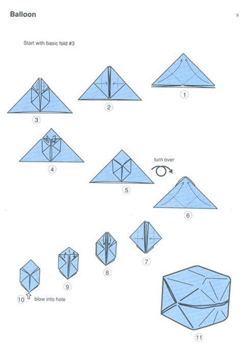 how to make an origami balloon origami balloon diagram 171 embroidery origami
