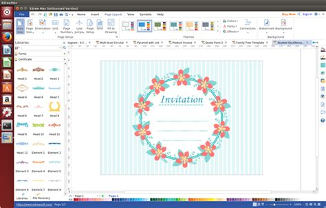 invitation card software invitation card software for linux