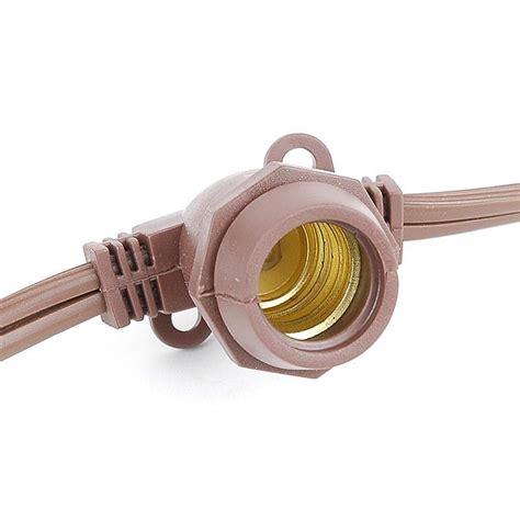 string light sockets 330 bulk heavy duty outdoor light string with