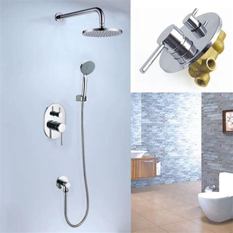 Kitchen Faucet Types concealed rain shower faucet set a2696 concealed bath