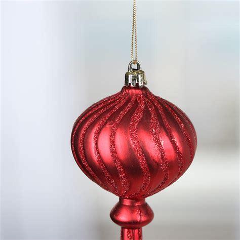acrylic ornaments sparkling acrylic finial ornament