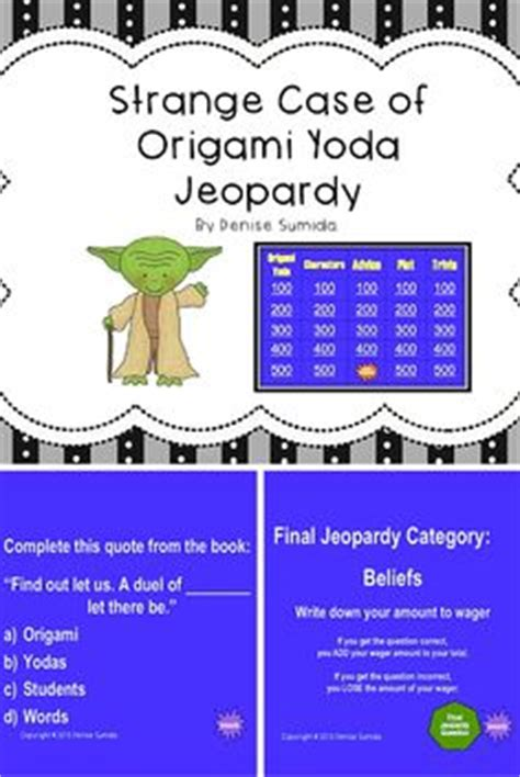the strange of origami yoda plays student and the o jays on
