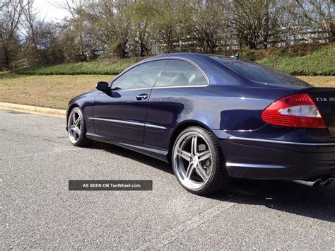 Mercedes Clk350 Coupe by 2008 Mercedes Clk 350 Coupe Amg Sport Package W 19