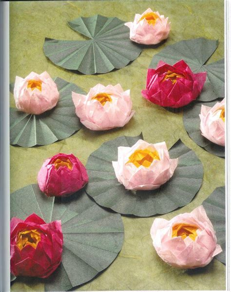 how to make a lotus flower origami origami lotus flower tutorial