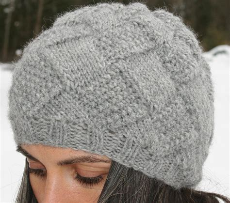 knitting hat entrelac hat also by amanda lilley knitting pattern