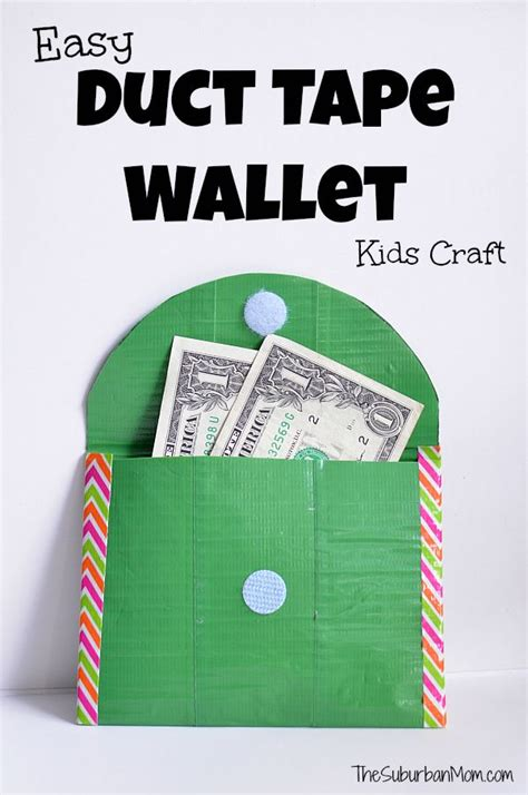 duct craft projects 25 best ideas about duct wallets on duct