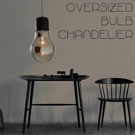 oversized light bulb pendant oversized bulb pendant light tudo co tudo and co