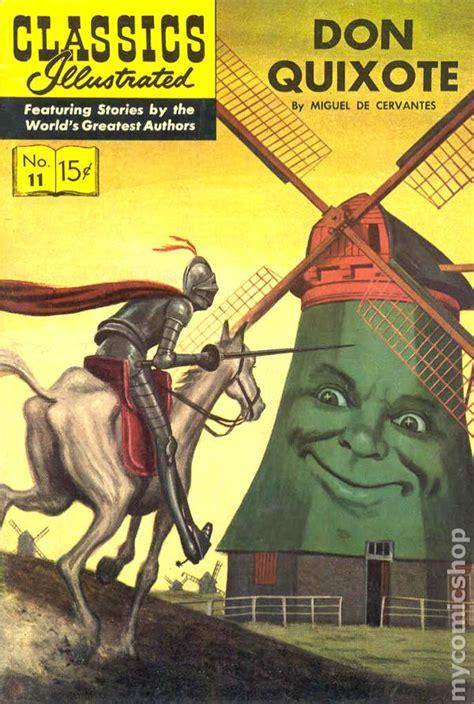 don quixote picture book classics illustrated 011 don quixote 1943 comic books
