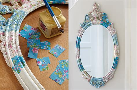 what do i need for decoupage how to make a decoupage mirror goodtoknow