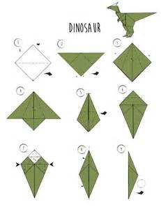 origami dinosaur easy origami on