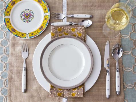 decoration ideas for table settings thanksgiving table setting ideas hgtv