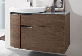 bathroom furniture from villeroy boch for every outlook on