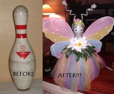bowling pin craft projects reuse recycle it started as a bowling pin craft