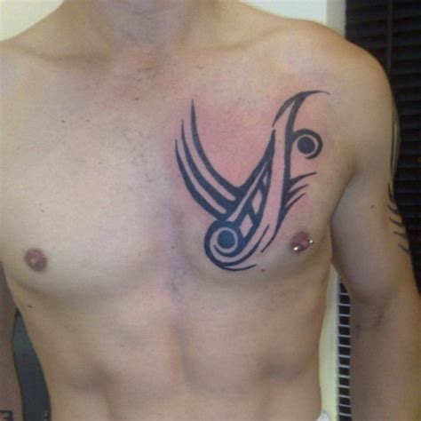 tribal chest tattoos for men tattoo ideas mag