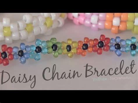 how to make a flower bead bracelet chain bracelet beaded flower jewelry how to