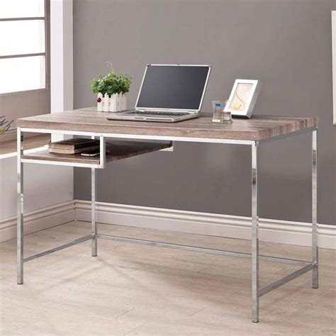 home office wood desk home office writing computer desk w reclaimed wood look