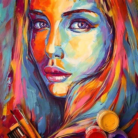 acrylic painting person 40 artistic acrylic painting ideas for beginners