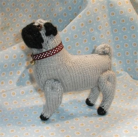 knitted pug pattern pugs on pugs pug and shops
