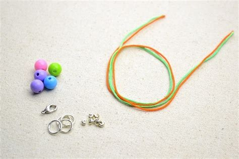 how to make beaded necklaces with string diy necklace ideas how to make a string bead necklace