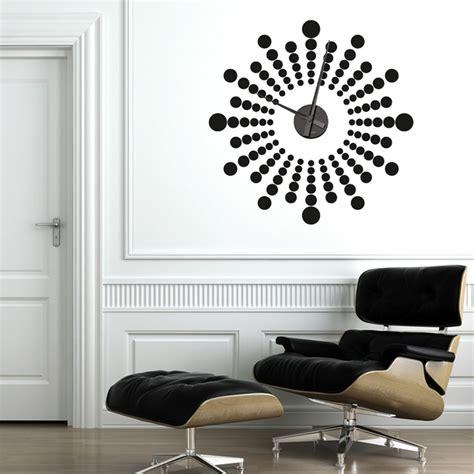 futuristic clock futuristic wall sticker clock wall chimp uk