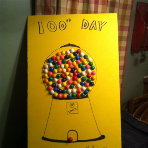 100th day of school craft projects my s 100th day of school project