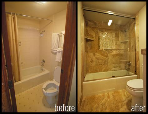 Bathroom Makeovers Cost by Bathroom Remodel Before And After Cost Shower Makeovers