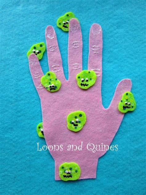 hygiene crafts for 25 best ideas about germ crafts on germs for