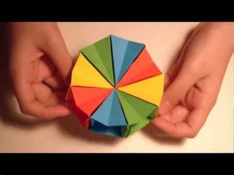 origami circle paper how to make an origami magic circle