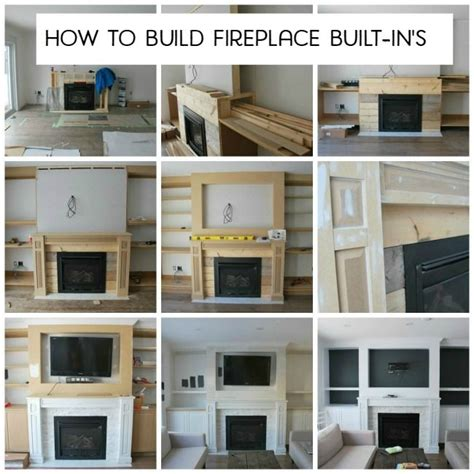 how to build fireplace 17 best ideas about tv fireplace on tv
