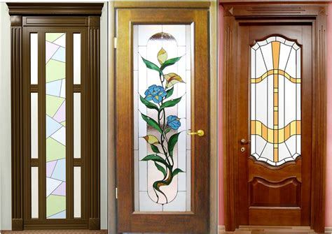 wooden doors with glass panels interior wooden doors with glass panels door six panel