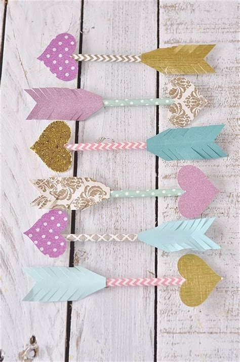 paper straw craft ideas paper straw arrows dress up your card or gift