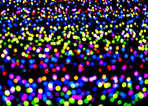 large multi colored lights multi colored light spots by chay bewley