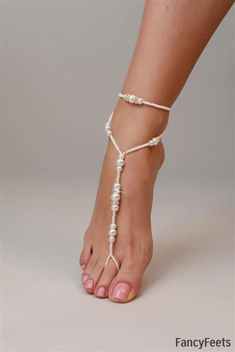 how to make beaded footless sandals barefoot sandals beaded barefoot sandals wedding