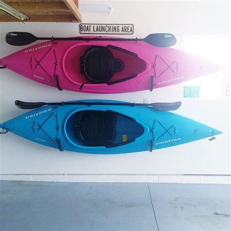 Garage Storage Kayak Best 25 Kayak Storage Ideas Only On Canoe