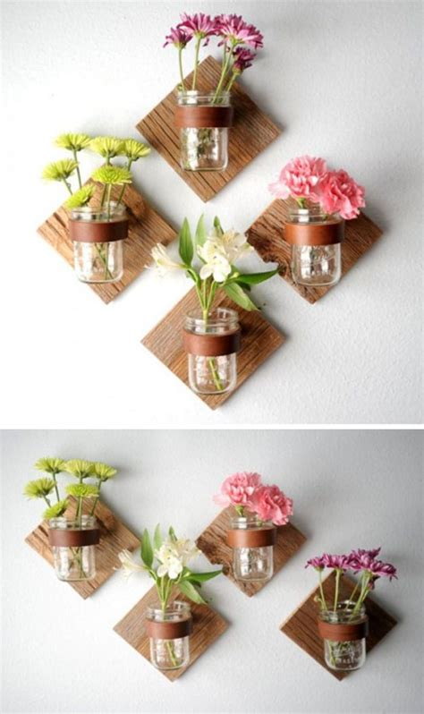 easy and craft ideas for home decor best 25 flower wall decor ideas on diy wall