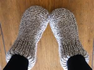 knitted slipper pattern knitting on the moon we had gold spoons