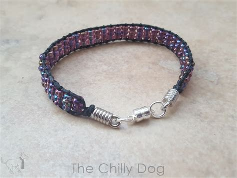 how to make a ladder bracelet with tutorial beaded ladder bracelet the chilly