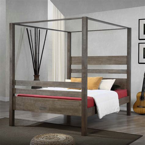 how to make a wood bed frame bed frames how to make a wood canopy bed frame