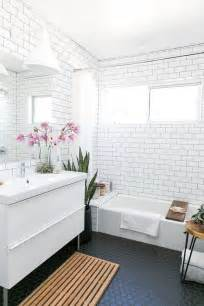 modern tiles for bathrooms 33 chic subway tiles ideas for bathrooms digsdigs