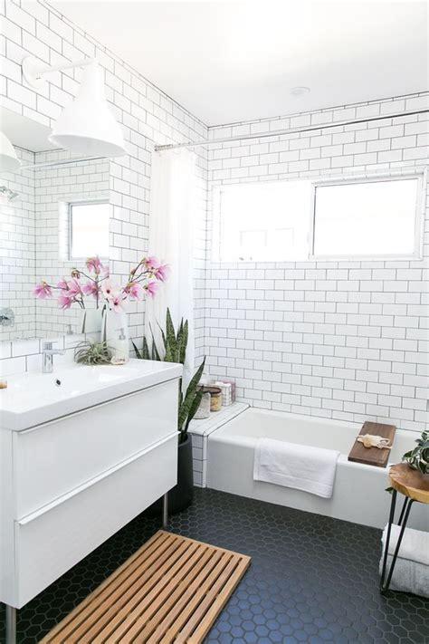 modern bathroom floor tile ideas 33 chic subway tiles ideas for bathrooms digsdigs