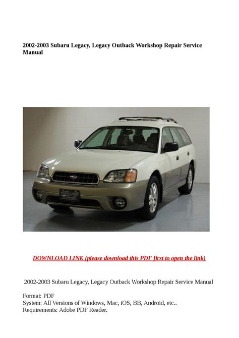 service manual chilton car manuals free download 2002 subaru outback electronic throttle